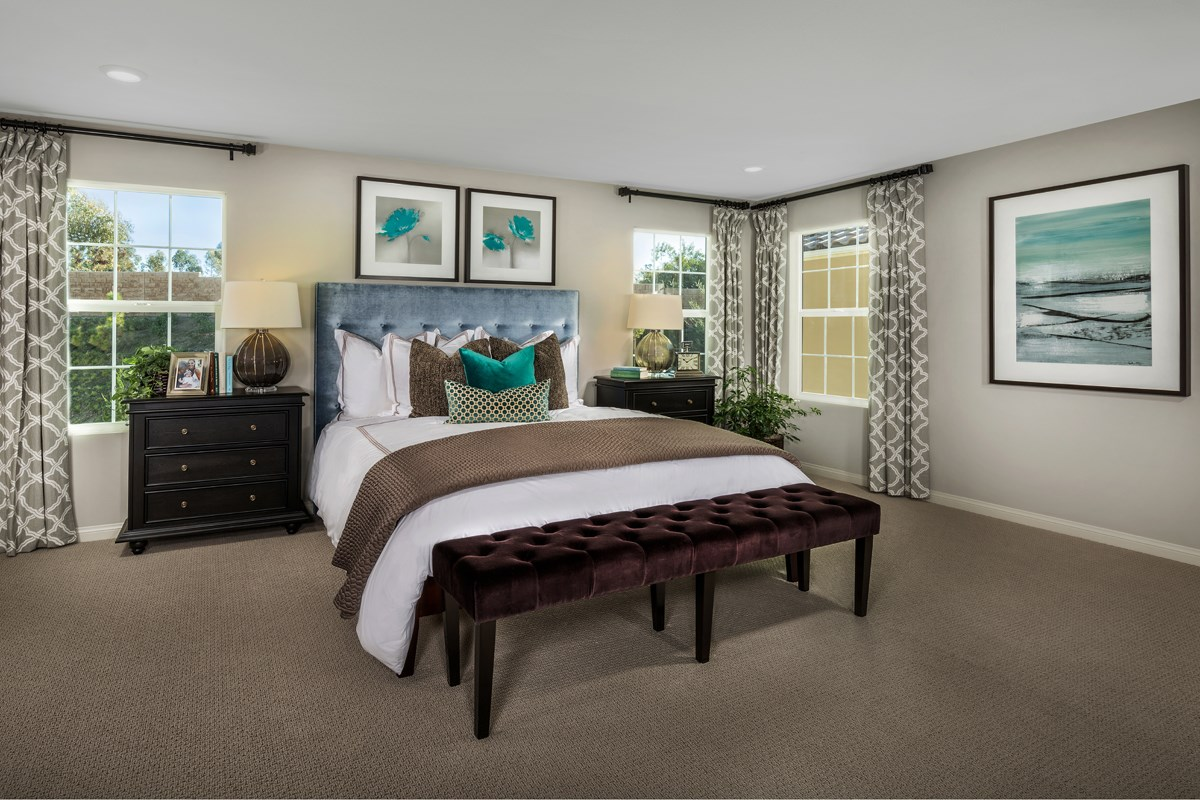 New Homes in San Diego, CA - Sea Cliff II Residence 2608 - Master Bedroom