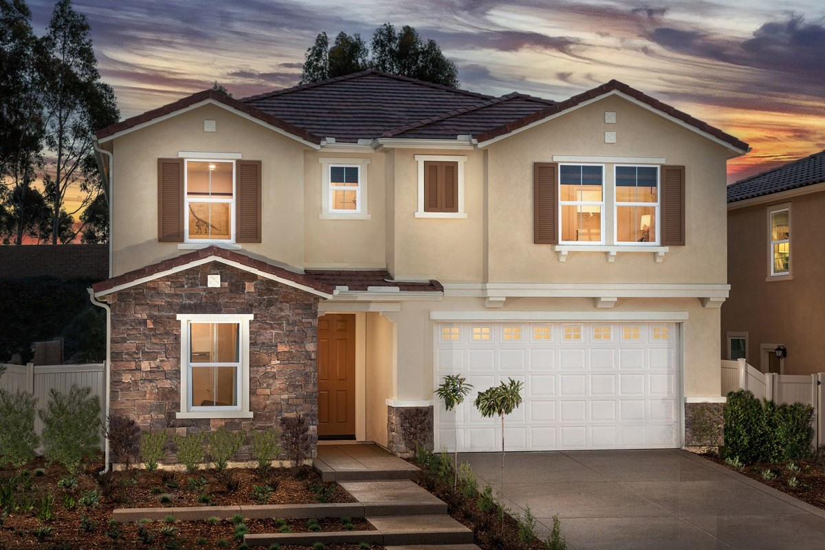 New Homes in San Diego, CA - Sea Cliff II Residence 2909 - Tuscan 'C'