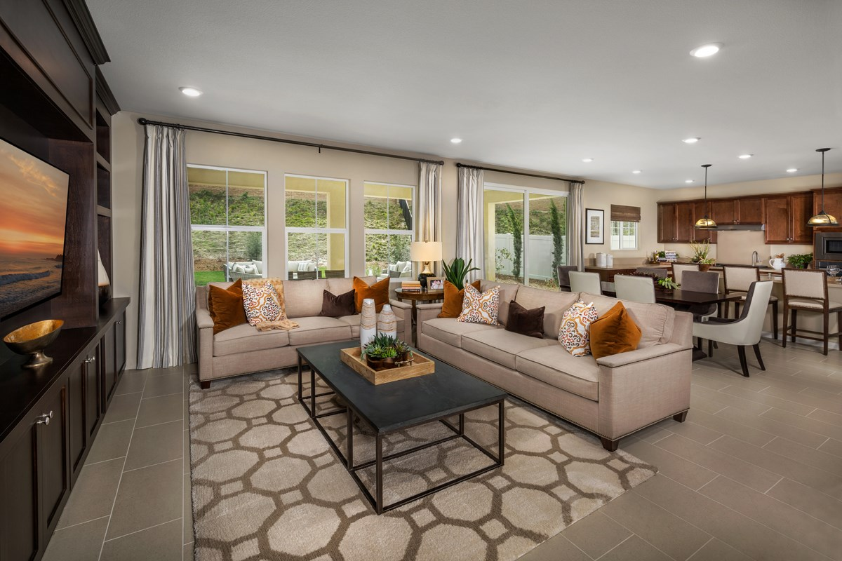 New Homes in San Diego, CA - Sea Cliff II Residence 2909 - Great Room