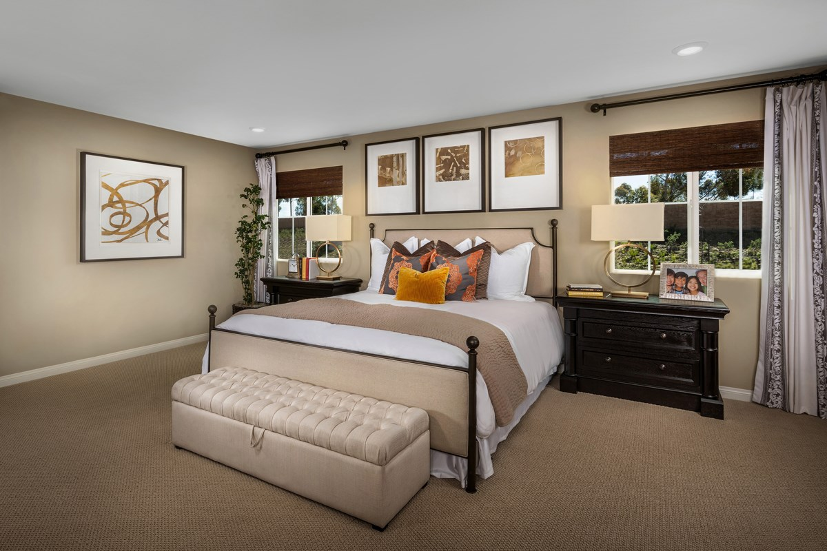 New Homes in San Diego, CA - Sea Cliff II Residence 2909 - Master Bedroom