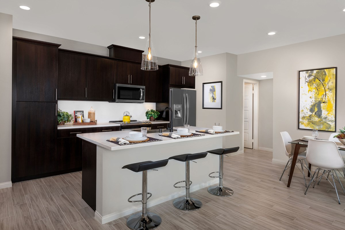 New Homes in Vista, CA - Sierra Residence One Kitchen