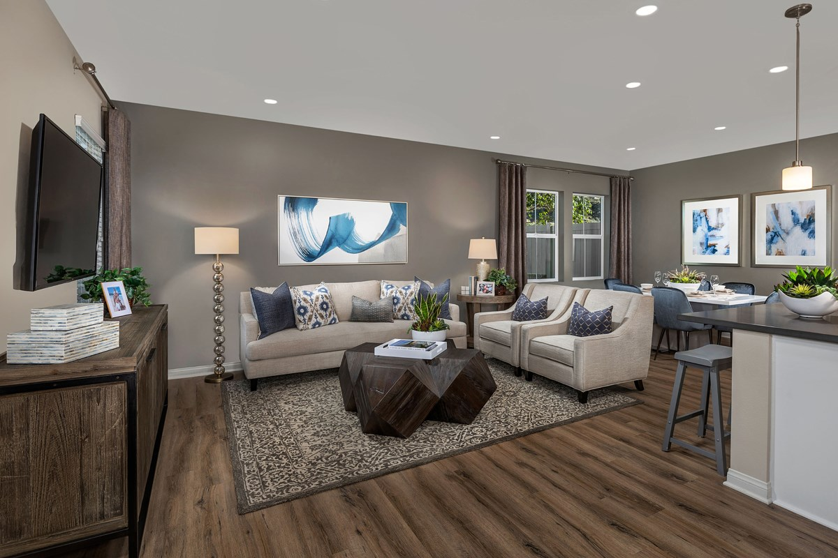 New Homes in Vista, CA - Sierra Residence Three Great Room