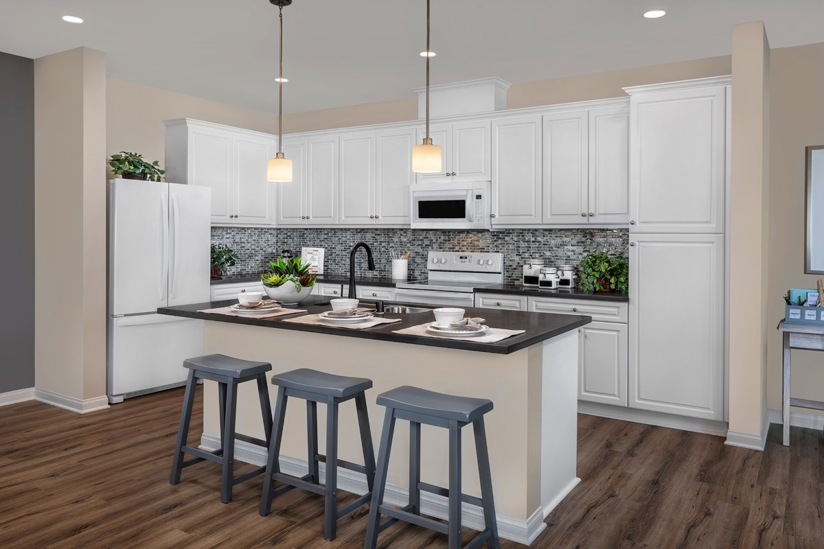 New Homes in Vista, CA - Sierra Residence Three Kitchen