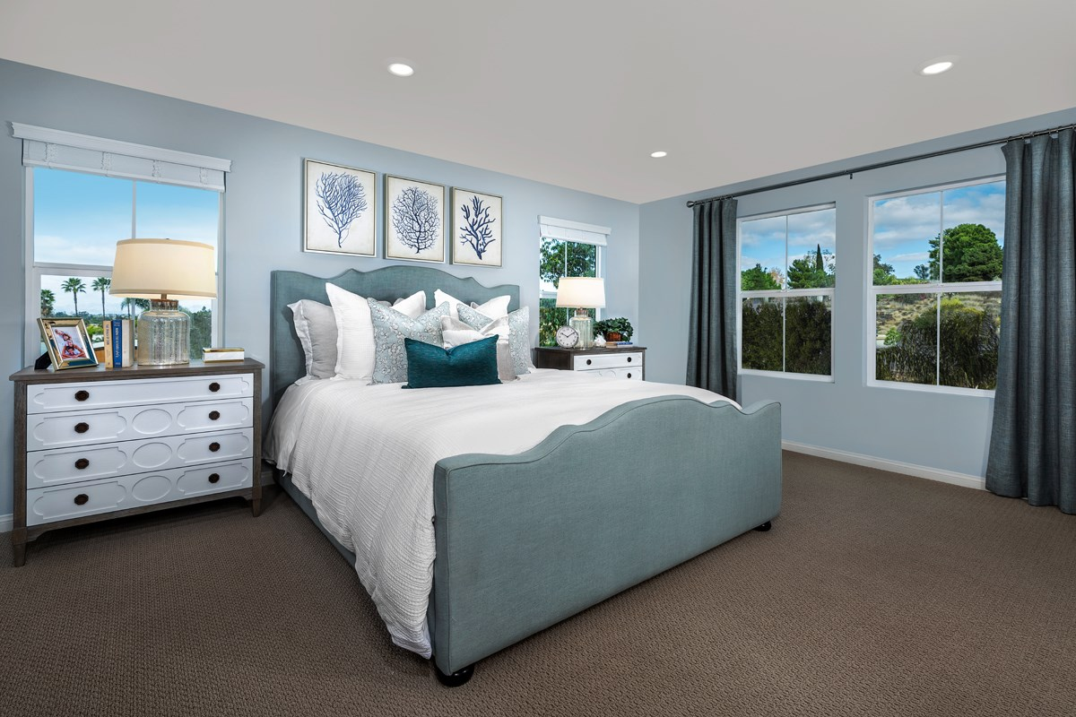 New Homes in Vista, CA - Sierra Residence Three Master Bedroom