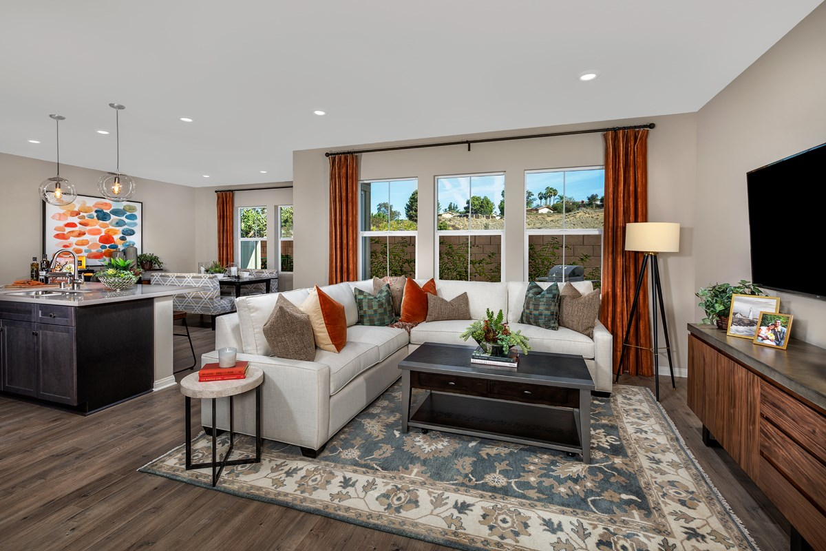 New Homes in Vista, CA - Sierra Residence Two Great Room