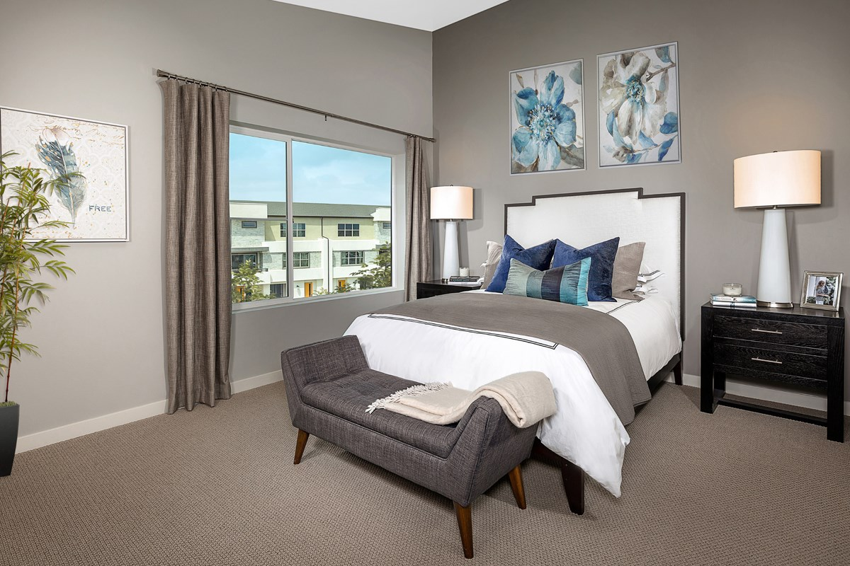 New Homes in Chula Vista, CA - Skylar at Millenia Residence Three Master Bedroom