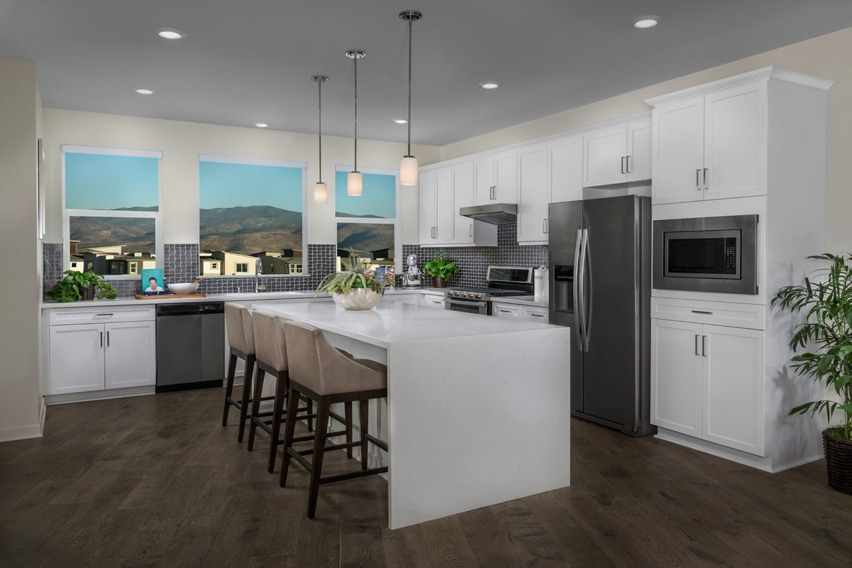 New Homes in Chula Vista, CA - Skylar at Millenia Residence One Kitchen
