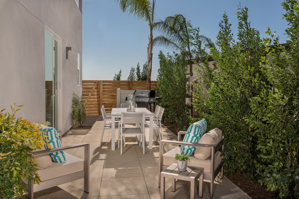 New Homes in Chula Vista, CA - Skylar at Millenia Residence One Patio