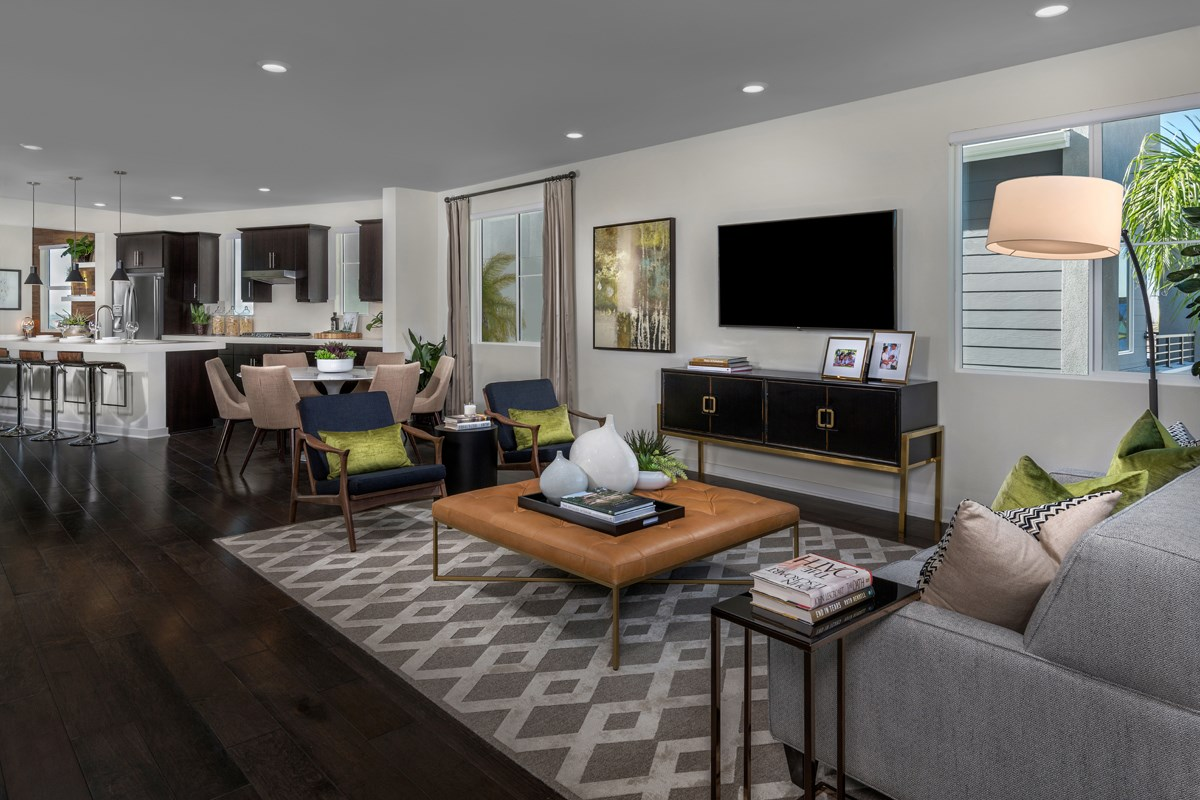 New Homes in Chula Vista, CA - Skylar at Millenia Residence Two Great Room