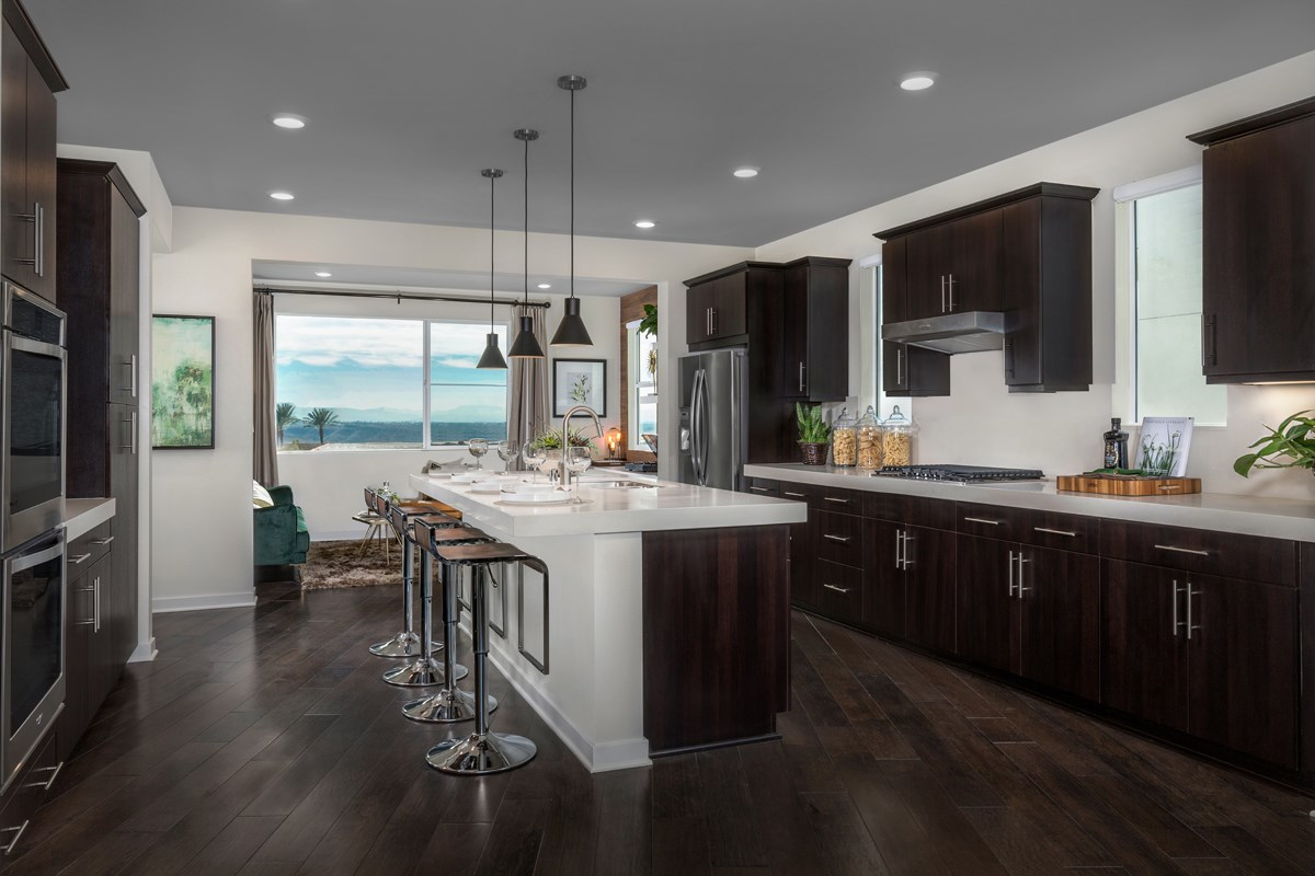 New Homes in Chula Vista, CA - Skylar at Millenia Residence Two Kitchen
