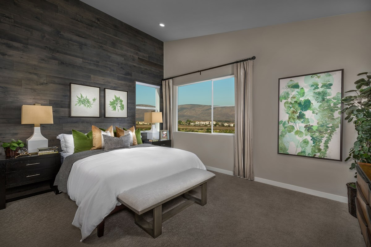 New Homes in Chula Vista, CA - Skylar at Millenia Residence Two Master Bedroom