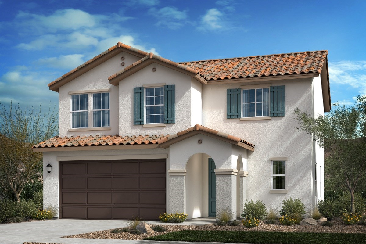 New Homes in Spring Valley, CA - Sweetwater Place Spanish 'A' Elevation