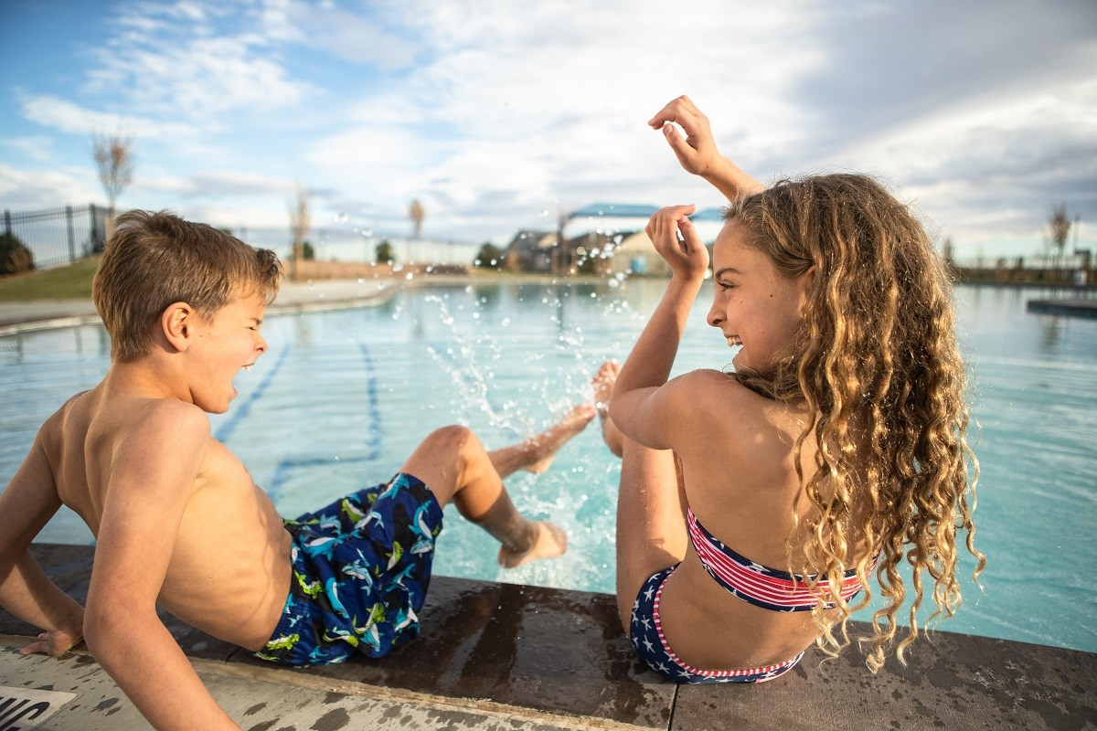 New Homes in Firestone, CO - Barefoot Lakes Barefoot Lakes Pool