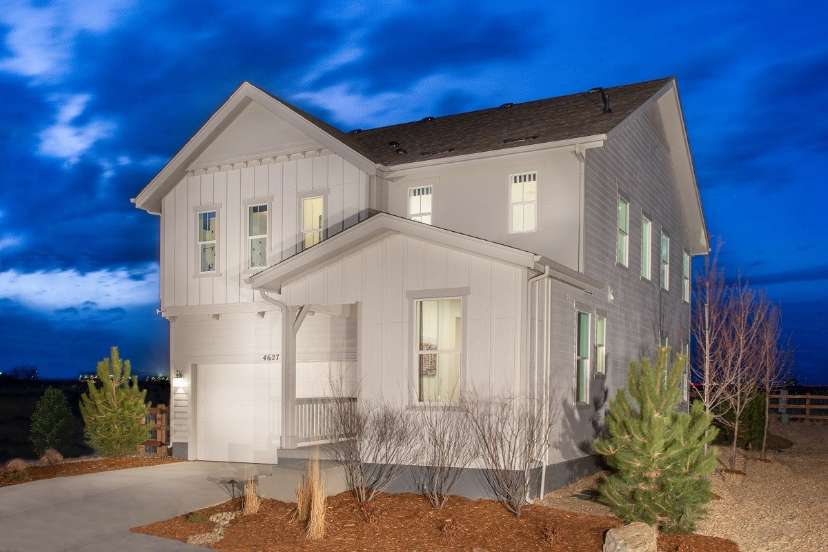 New Homes in Firestone, CO - Barefoot Lakes Memory - Elevation A