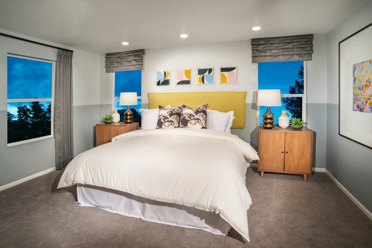 New Homes in Firestone, CO - Barefoot Lakes Memory - Master Bedroom