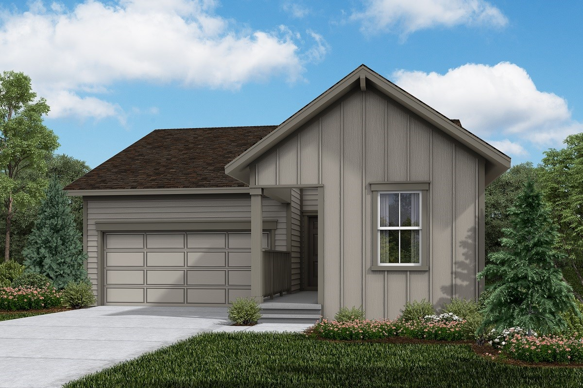 New Homes in Firestone, CO - Barefoot Lakes Ambition - Elevation A