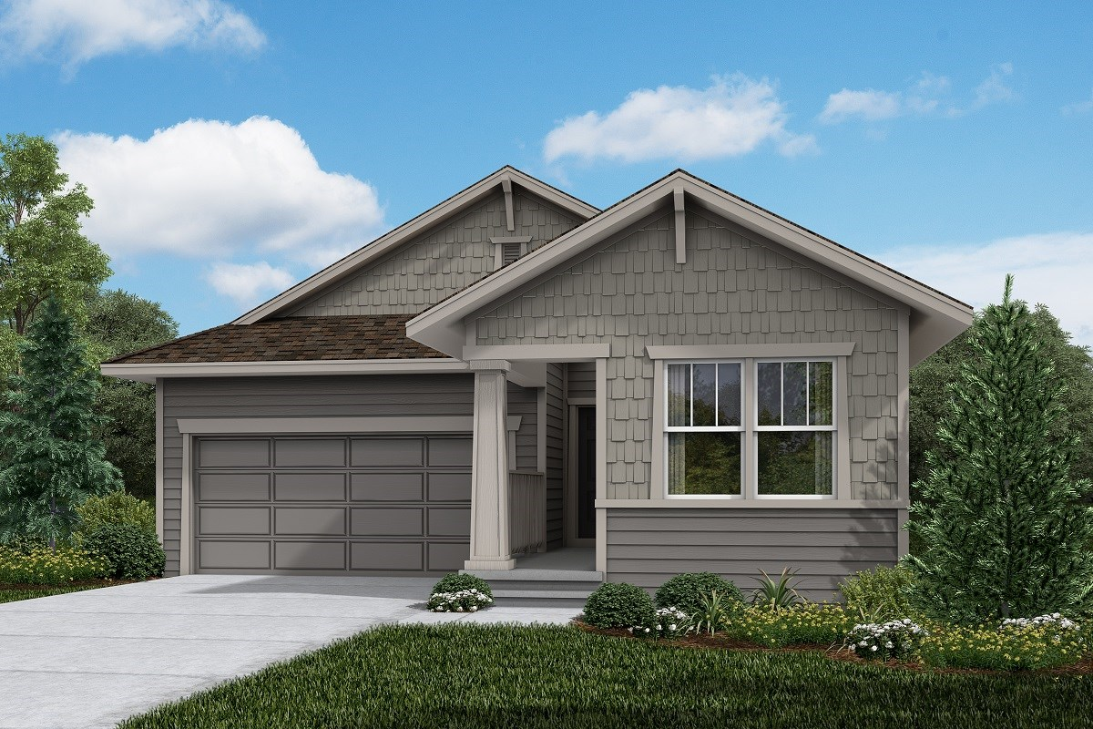 New Homes in Firestone, CO - Barefoot Lakes Ambition - Elevation B