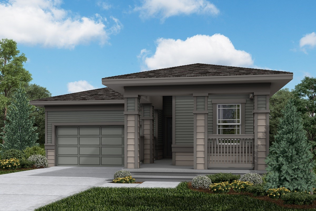 New Homes in Firestone, CO - Barefoot Lakes Ambition - Elevation C