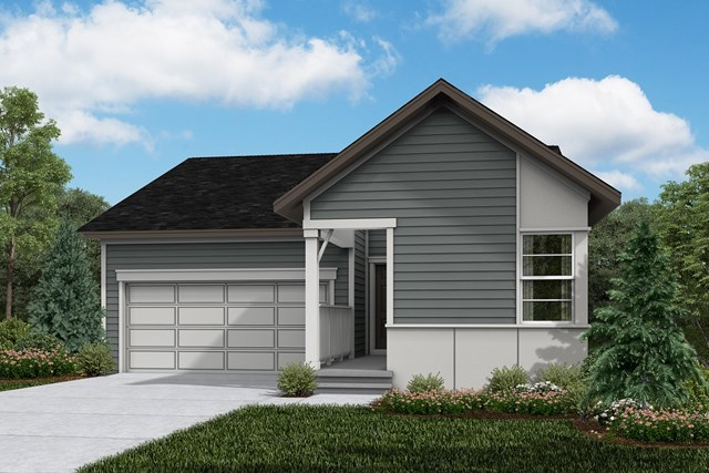 New Homes in Firestone, CO - Ambition - Elevation D