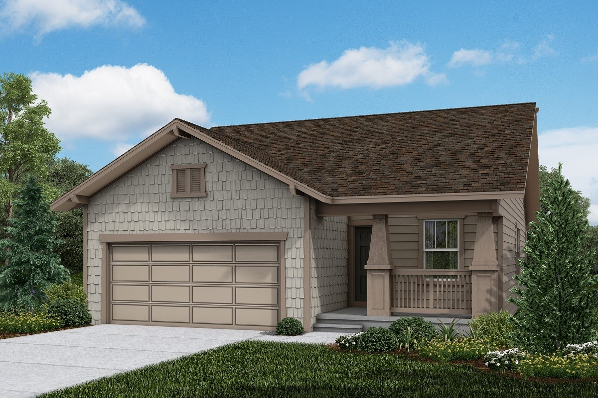 New Homes in Firestone, CO - Barefoot Lakes Aspire - Elevation B