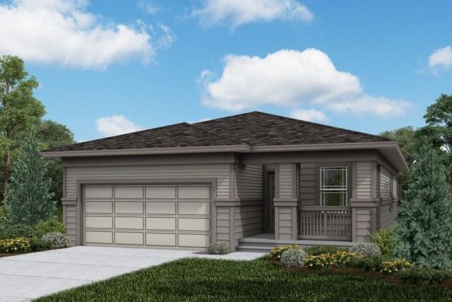 New Homes in Firestone, CO - Aspire - Elevation C