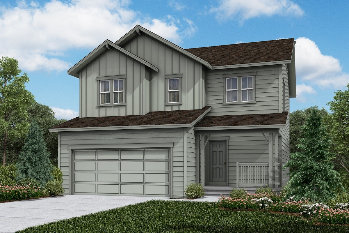 New Homes in Firestone, CO - Barefoot Lakes Vision - Elevation A