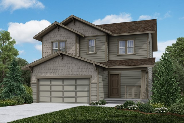 New Homes in Firestone, CO - Vision - Elevation B