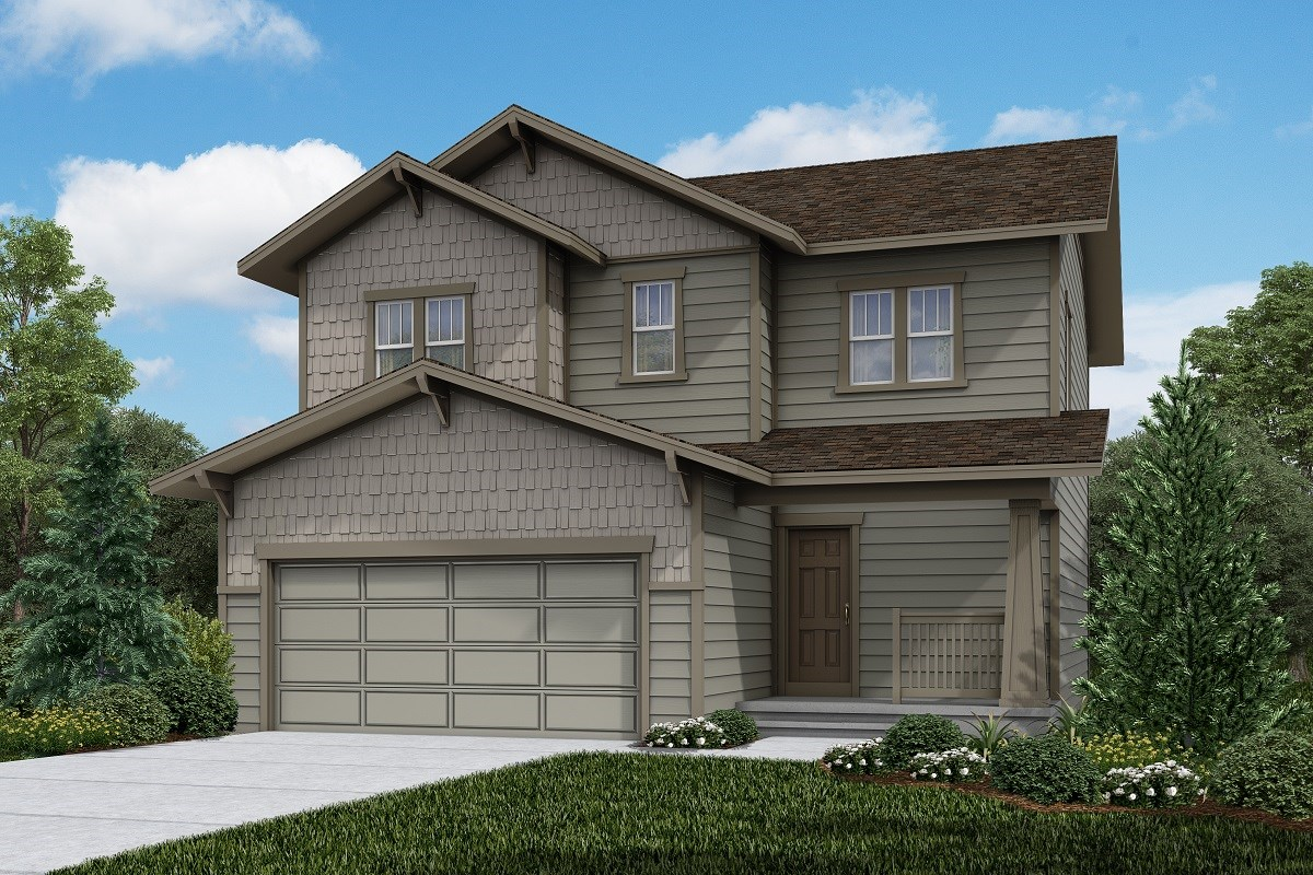 New Homes in Firestone, CO - Barefoot Lakes Vision - Elevation B