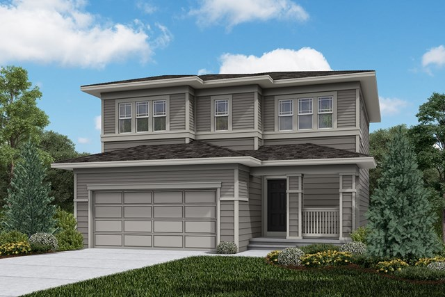 New Homes in Firestone, CO - Vision - Elevation C