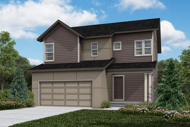 New Homes in Firestone, CO - Vision - Elevation D