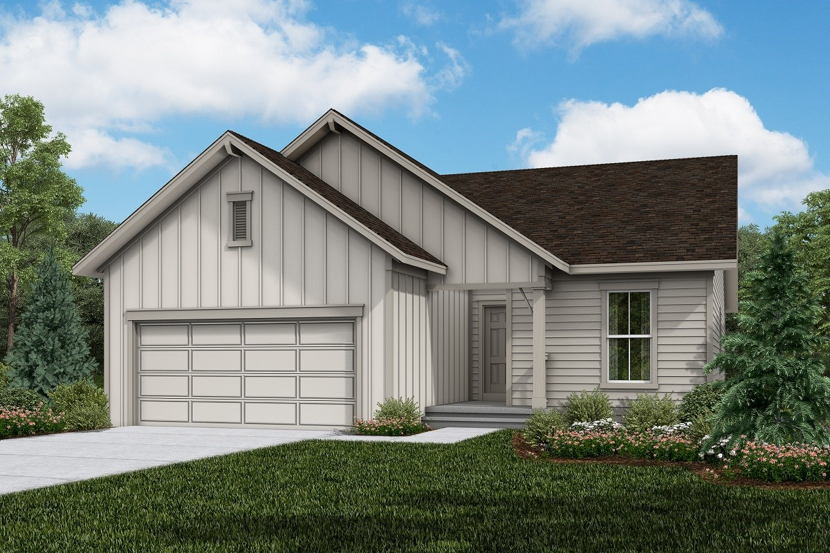 New Homes in Firestone, CO - Barefoot Lakes Chaucer - Elevation A