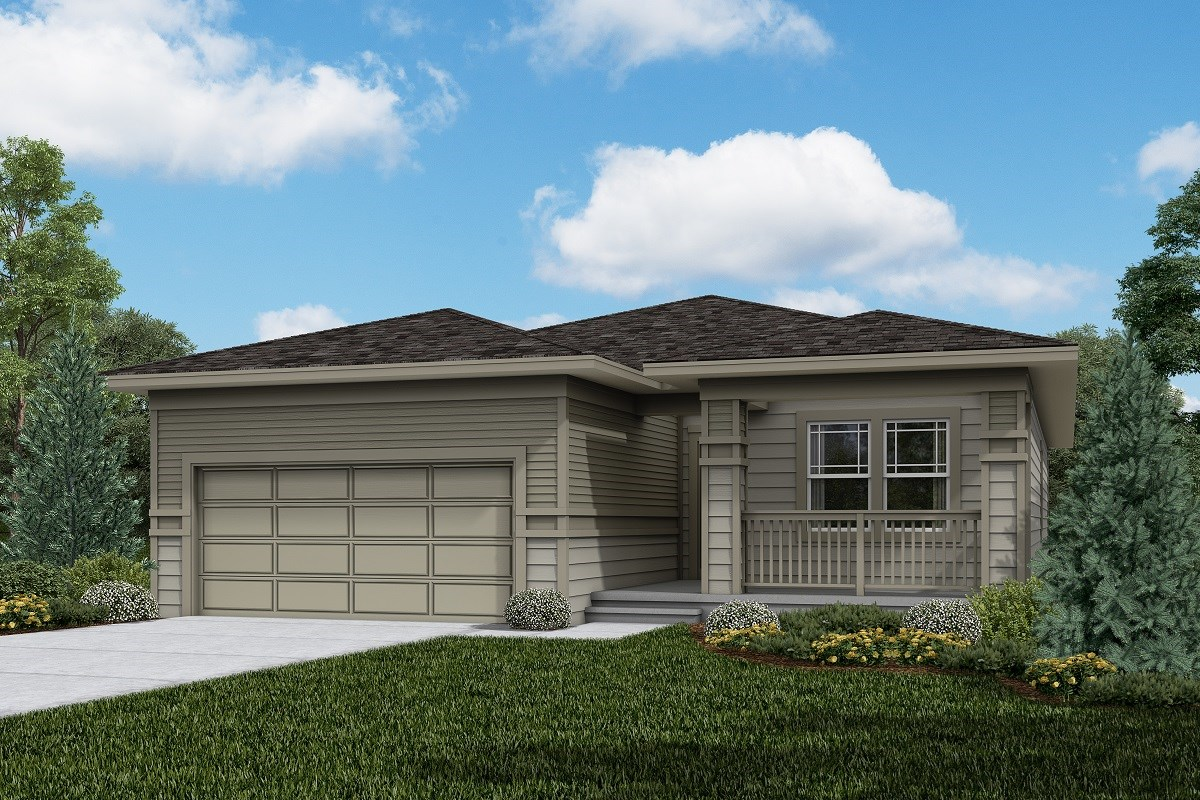 New Homes in Firestone, CO - Barefoot Lakes Chaucer - Elevation C