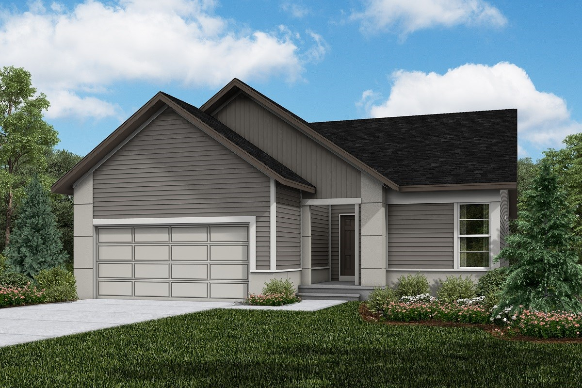 New Homes in Firestone, CO - Barefoot Lakes Chaucer - Elevation D