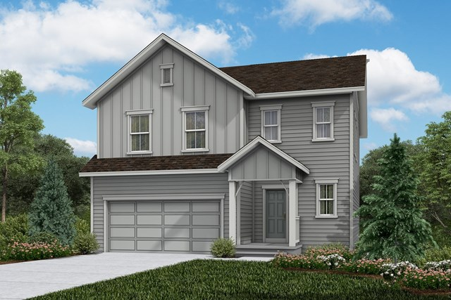 New Homes in Firestone, CO - Glimpse - Elevation A