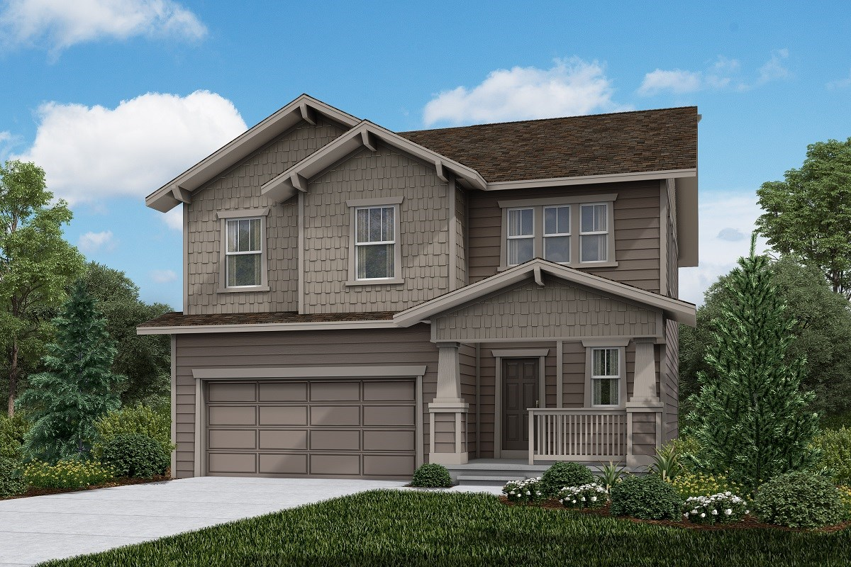 New Homes in Firestone, CO - Barefoot Lakes Glimpse - Elevation B