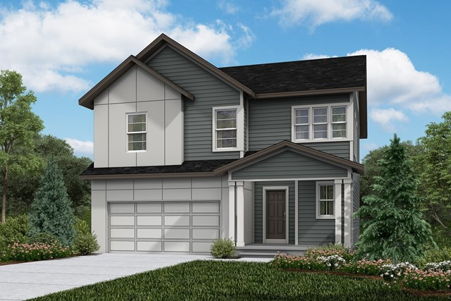 New Homes in Firestone, CO - Glimpse - Elevation D