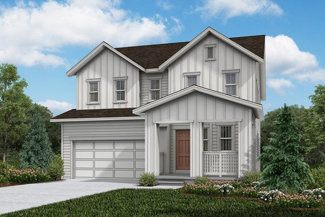 New Homes in Firestone, CO - Sparkle - Elevation A