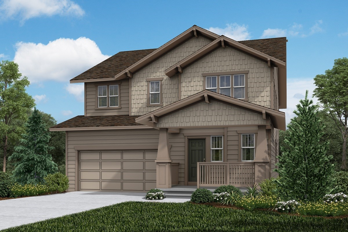 New Homes in Firestone, CO - Barefoot Lakes Sparkle - Elevation B