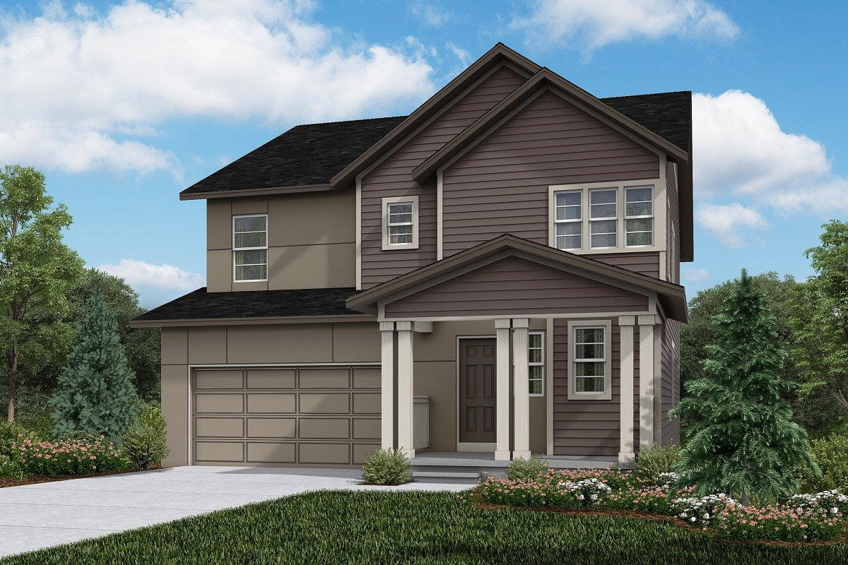 New Homes in Firestone, CO - Barefoot Lakes Sparkle - Elevation D