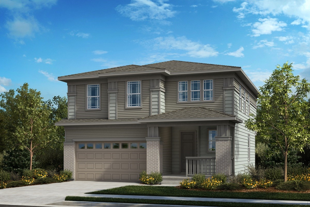 New Homes in Castle Pines, CO - The Canyons Glimpse - Elevation B