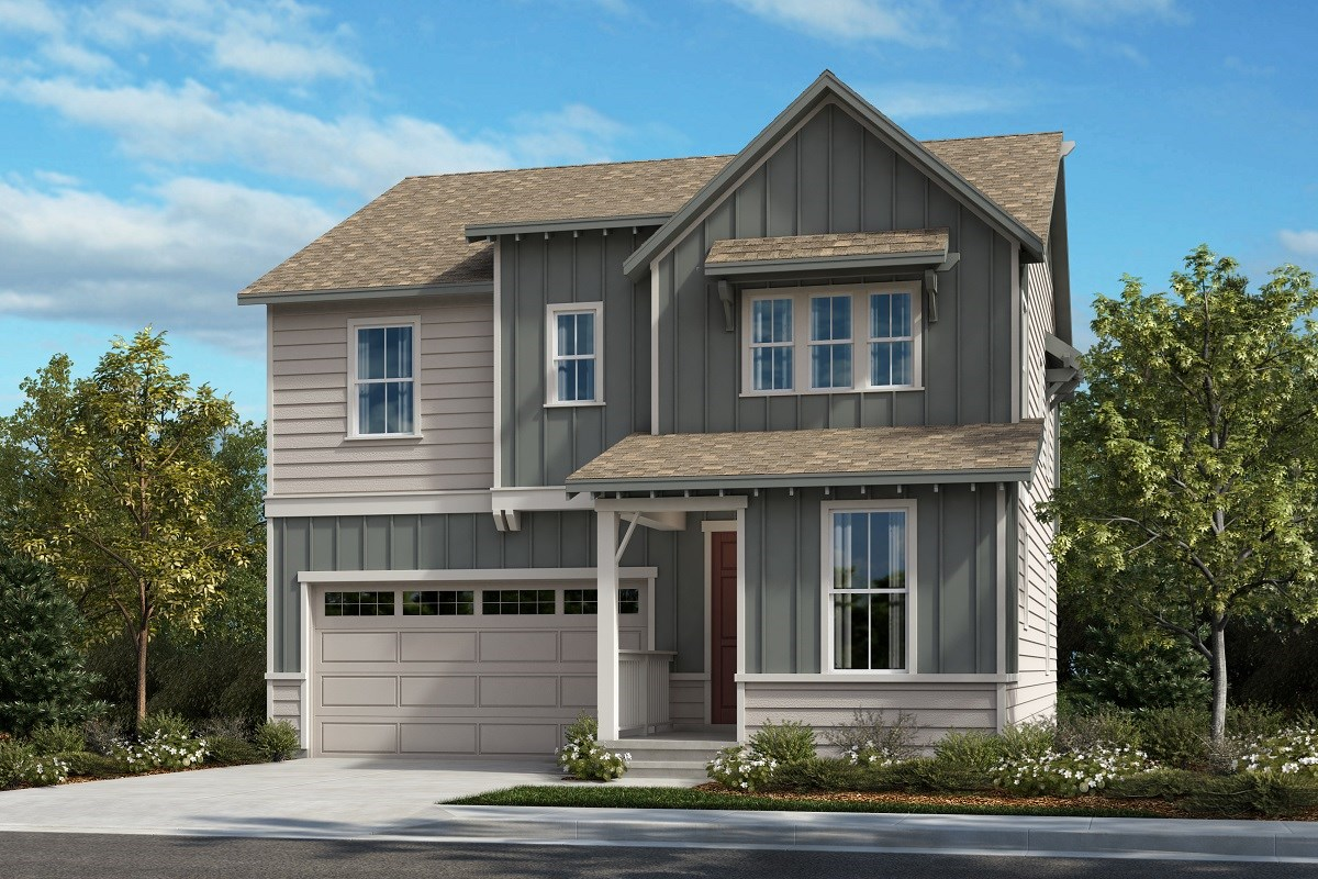 New Homes in Castle Pines, CO - The Canyons Memory - Elevation A