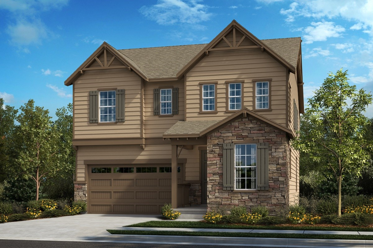 New Homes in Castle Pines, CO - The Canyons Memory - Elevation C