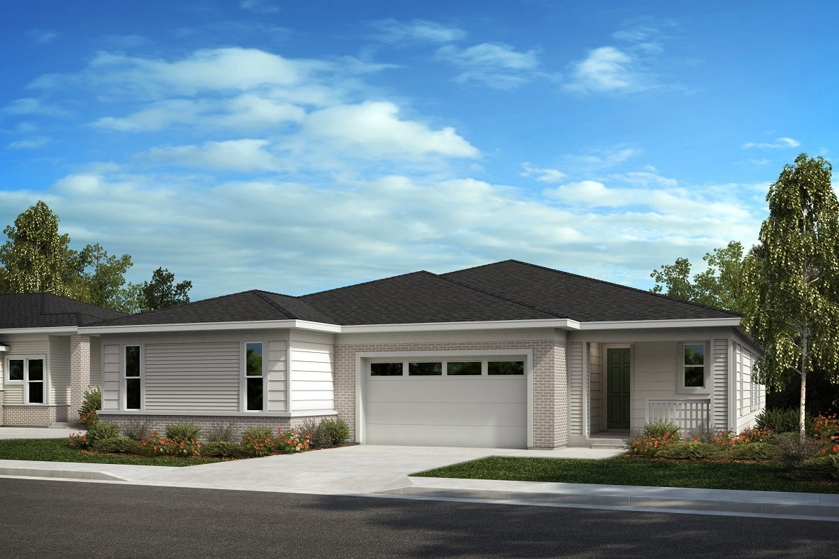New Homes in Castle Pines, CO - The Canyons Villas Aura - Modern Colorado