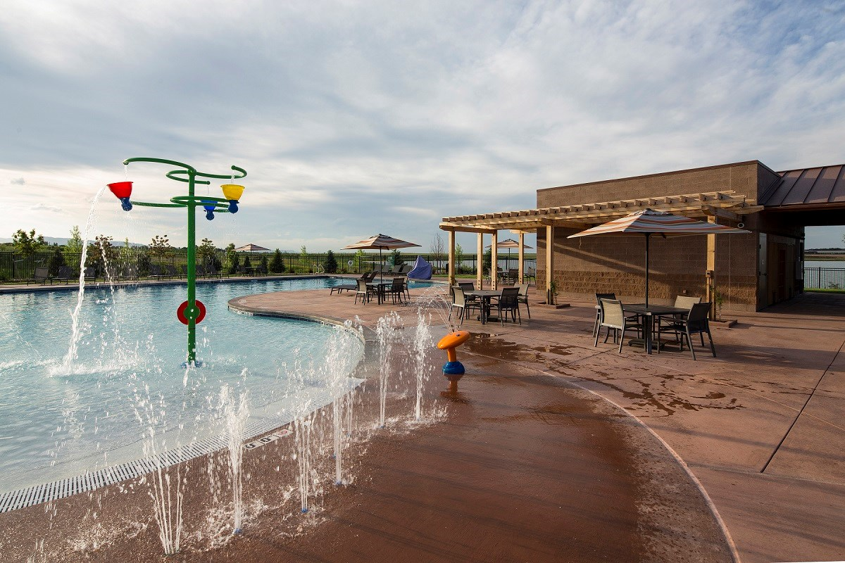 New Homes in Loveland, CO - The Lakes at Centerra Community Pool