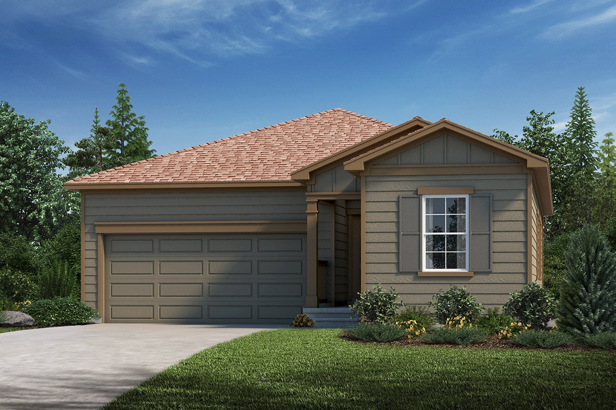 New Homes in Loveland, CO - The Lakes at Centerra Ambition - Elevation A