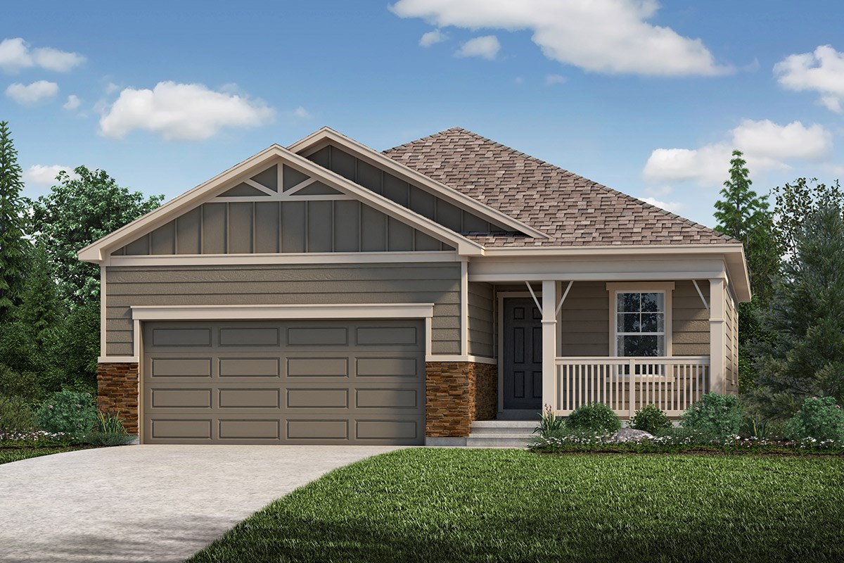 New Homes in Loveland, CO - The Lakes at Centerra Aspire - Elevation B