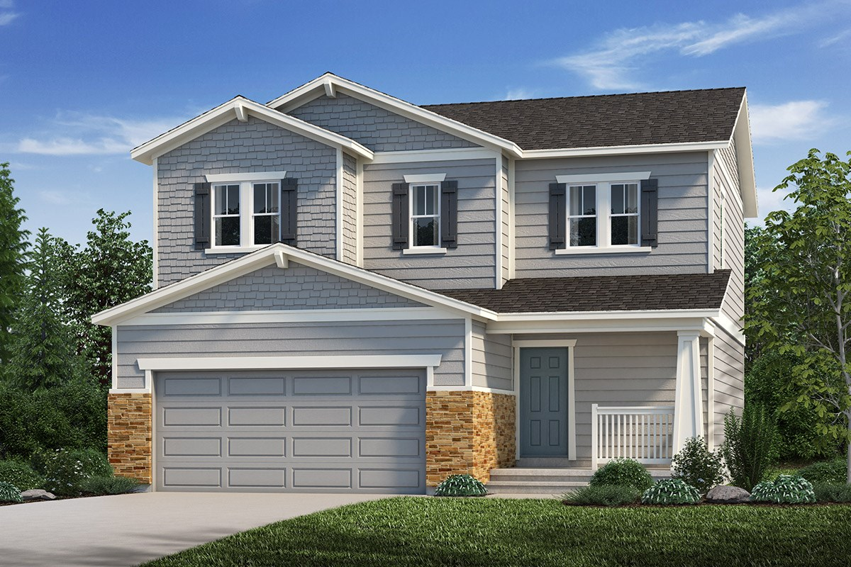 New Homes in Loveland, CO - The Lakes at Centerra Vision - Elevation C