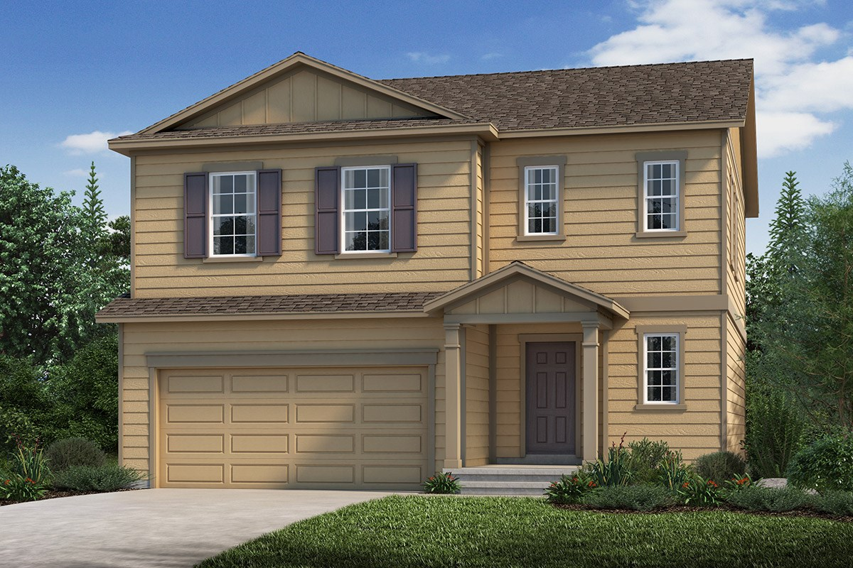 New Homes in Loveland, CO - The Lakes at Centerra Glimpse - Elevation A