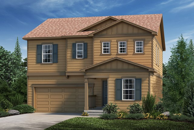 New Homes in Loveland, CO - Elevation A
