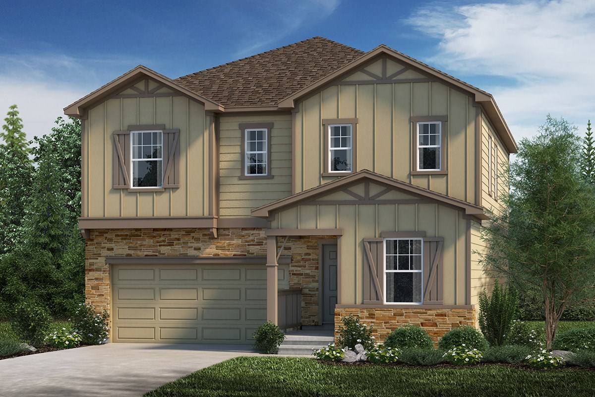 New Homes in Loveland, CO - The Lakes at Centerra Memory - Elevation B